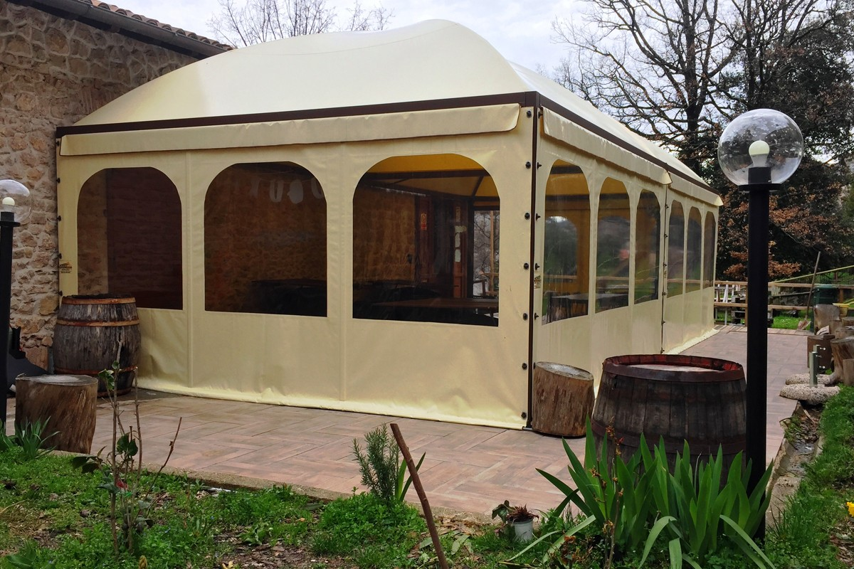 gazebo cupola mini roma medium carpineto