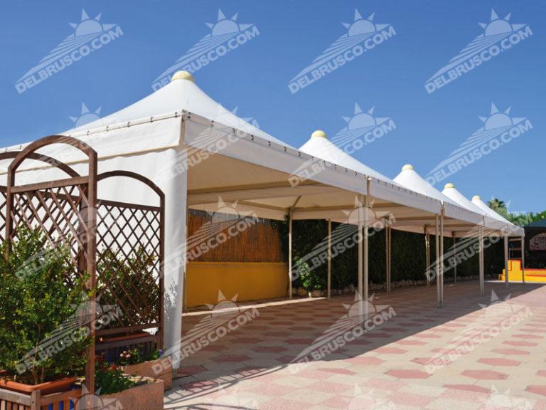 gazebo pagoda roma tondo