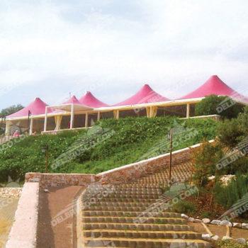 Gazebo pagoda roma mega
