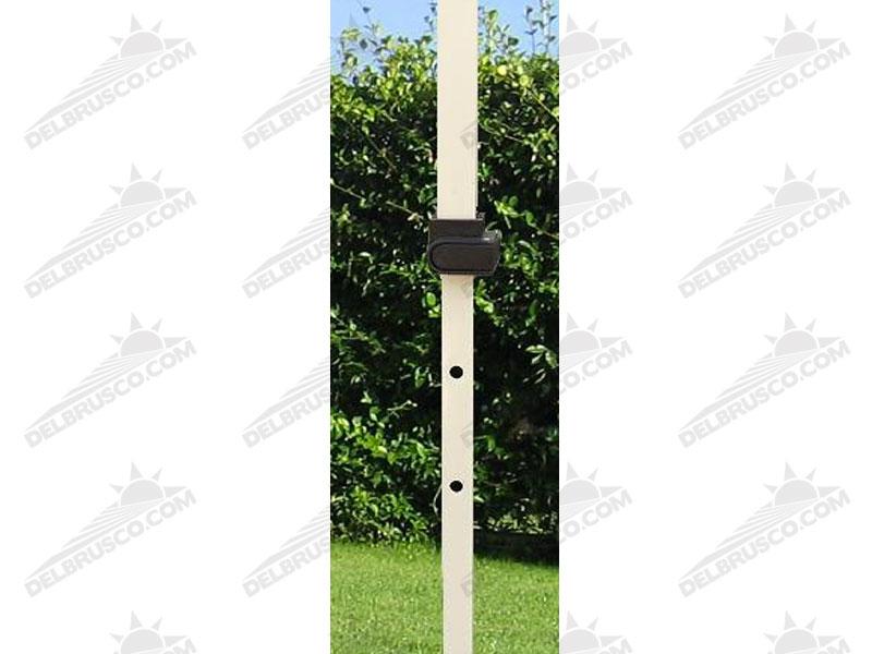 gazebo pieghevole in acciaio piantone con altezza regolabile