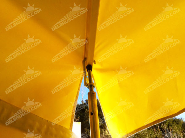 ombrellone supporto laterale pvc